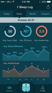 Sleep Log View